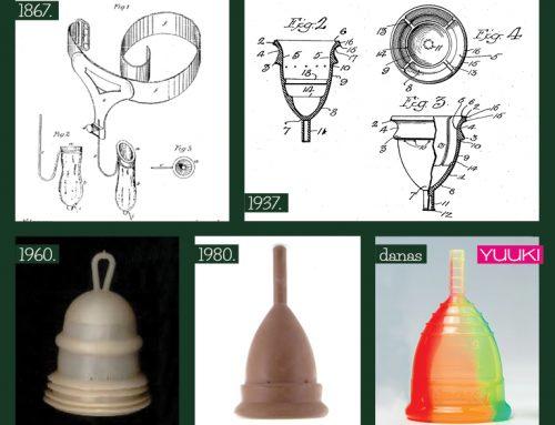 Istorija menstrualne čašice